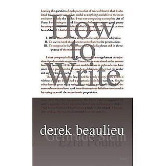 Comment écrire