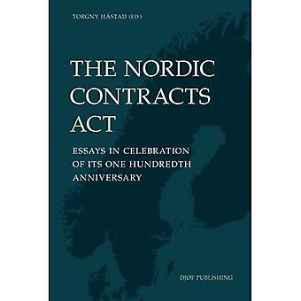 The Nordic Contracts Act: Essays in Celebration of its One Hundreth Anniversary: 2