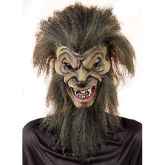 Masque en Latex loup nuit