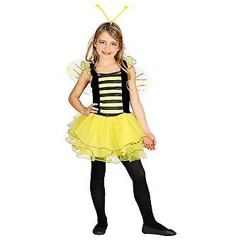 Meisjes weinig Bee Fancy Dress kostuum