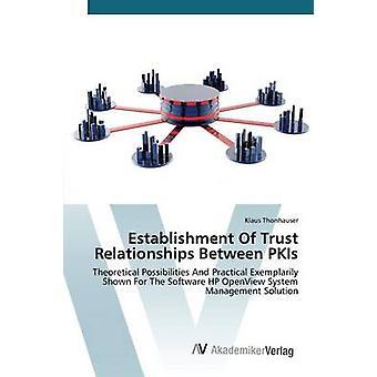 Oprichting van vertrouwensrelaties tussen PKI's door Thonhauser Klaus