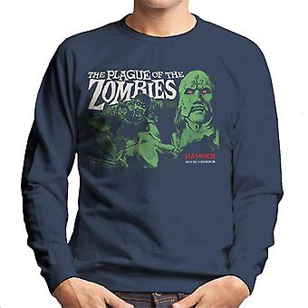 Hammer The Plague Of The Zombies Poster Men's Sweatshirt