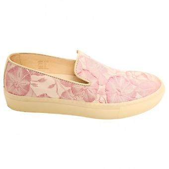 H By Hudson Woman Annuk Sneaker, Pink Fabric