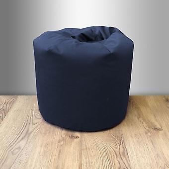 Kleine katoenen klassieke Bean Bag-Navy