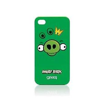 Gear4 Angry Birds Cover Green Iphone 4