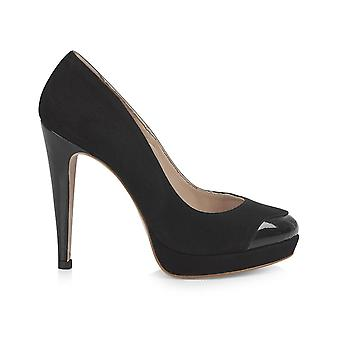 Mayfair plateau zwart schoenen