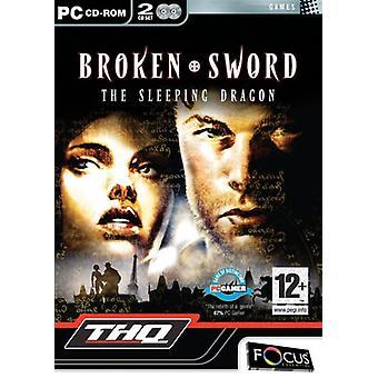 Brutet svärd Den sovande draken (PC CD) - Som ny