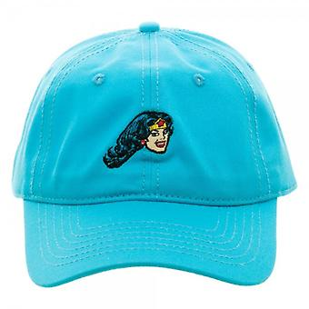 Baseball Cap - DC Comics - Wonder Woman Embroidered Dad Hat ba411vdco