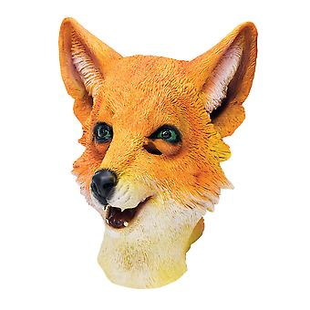 Bristol Novelty Unisex Fox Rubber Head Mask