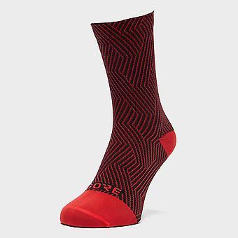 New Gore Men's C3 Optiline Mid Socks Red