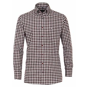 CASA MODA Casa Moda Check Button Down Collar Shirt