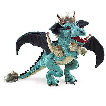 Hand Puppet - Folkmanis - Dragon Sky Animals Soft Doll Plush 2958