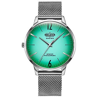 Welder Breezy Quartz Analog Man Watch with WRS406 Stainless Steel Bracelet