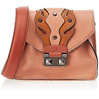 Trussardi Jeans 75B00549-9Y099999 Women's Pink Shoulder Bag (Old Pink) 18x14x99 cm (W x H x L)