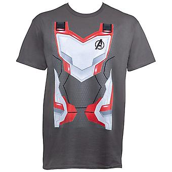 Avengers Endgame Quantum Armor puku Miesten ' s T-paita