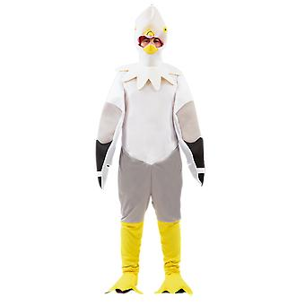 Adult Seagull Bird Funny Animal Halloween Party Fancy Dress Costume