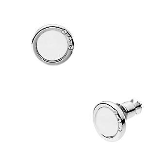 Skagen Women's Earrings in Stainless Steel with Glass