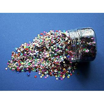 6mm Mini Sequin Stars in Drum for Crafts
