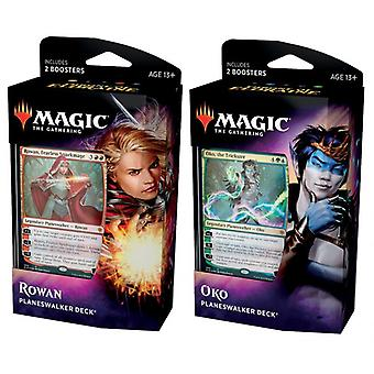 Magic T. Gathering-troon van Eldraine Planeswalker deck 2-pack