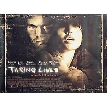Taking Lives (Double Sided) Original Cinema Poster