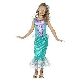 Ragazze sirena Deluxe Fancy Dress Costume