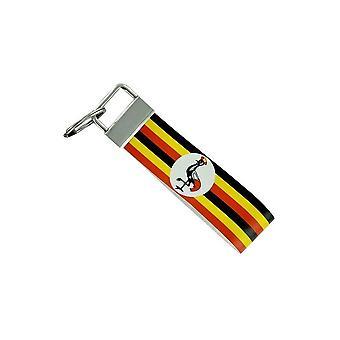 Door Cles Keys Car Motorcycle Band Fabric Flag House Tuning Uganda