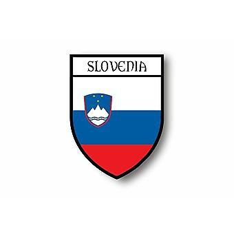 Sticker sticker sticker auto moto Blason stad vlag Slovenie Slovene
