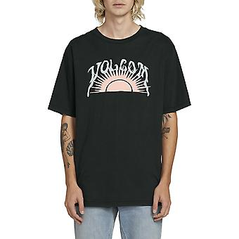 Volcom Savage Sun camiseta de manga corta en negro