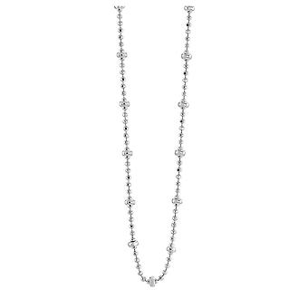 Dew Set Facet Cut Ball Chain 2mm Facet Cut Station Balls 18 Necklace CN0318