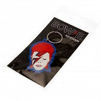 David Bowie Aladdin Sane PVC Keyring