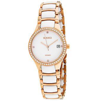 Roberto Bianci Femmes apos;s Balbinus White Dial Watch - RB2953