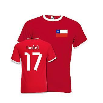 غاري ميديل شيلي في المسابقة المحملة (أحمر)