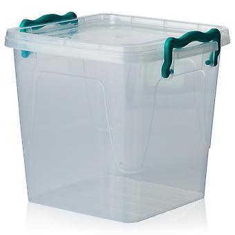 Hobby Life 1.8 Litre Square Multi Plastic Storage Box [sq Multi Box #0]