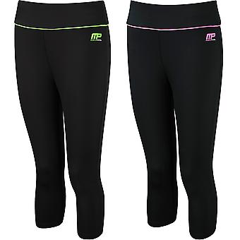 MusclePharm Womens MP Printed Compression Capri