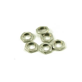 WD Music Small Pot Nut Nickel (bag Of 6)
