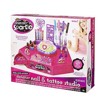 Cra-z-art Shimmer 'n Sparkle Designer Nail & Body Art Studio