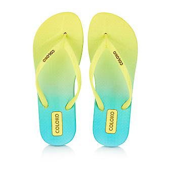 Coloko Ti Ergonomic Footbed Ombre Flip-Flops