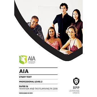 AIA 16 Taxation and Tax Planning
