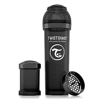 Twistshake Baby Bottle Anticolic 330Ml - Black