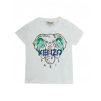 Tricou Kenzo Kids Elephant logo