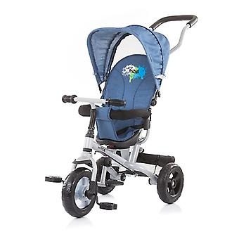 Chipolino Tricycle Max Ride tricycle 4 en 1, siège rotatif, tige coulissante, toit