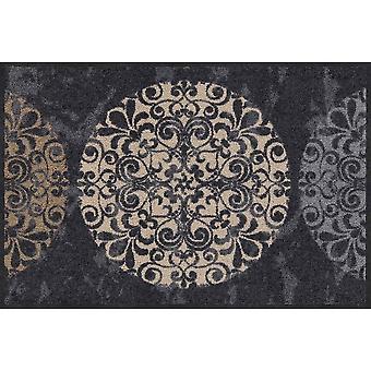 Salonloewe kakel cirklar dörrmatta tvättbar 50 x 75 cm