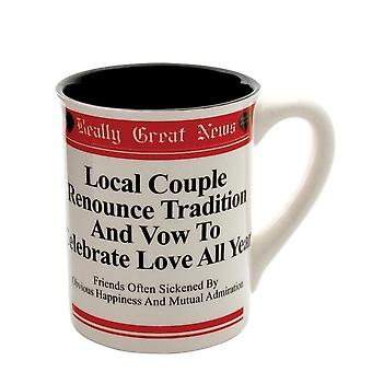 Really Great News Couple Celebrate Love All Year Round Mug