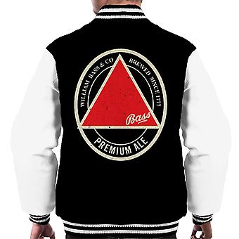 Bass Red Triangle Label Men's Varsity Jacket
