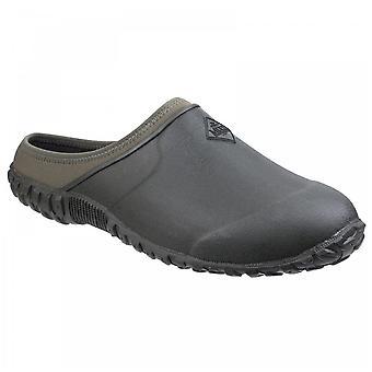 Muck Boots Mens Black + Moss Muckster Ii Neoprene Lined Gardening Clogs
