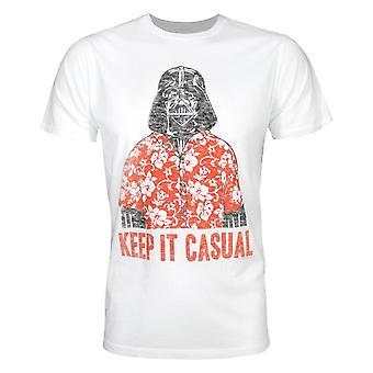 Junk Food Star Wars Vader Casual Men't-Shirt