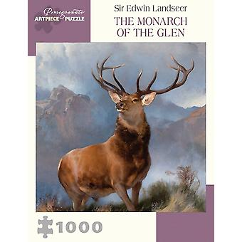 Jigsaw Sir Edwin Landseer - Monarh al Glen 1000 buc