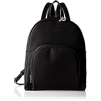 Picard Tiptop Black Women's Backpack (Schwarz) 5x31x28 centimeters (B x H x T)