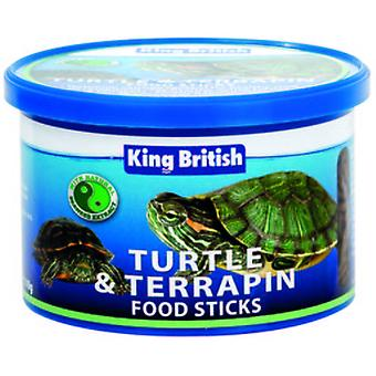 King British Turtle and Terrapin Food Sticks with IHB (Reptiles , Reptile Food)
