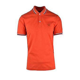Paul & Shark Paul And Shark Polo Shirt Brick Red